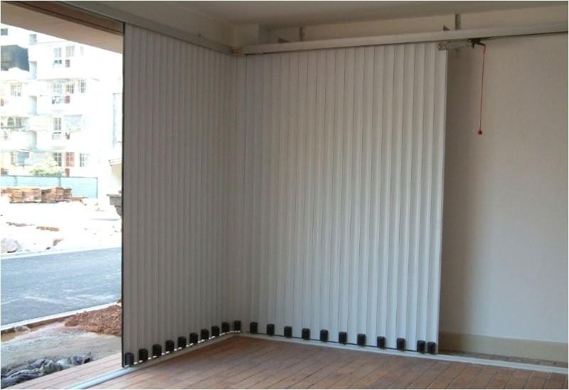 sideways garage door