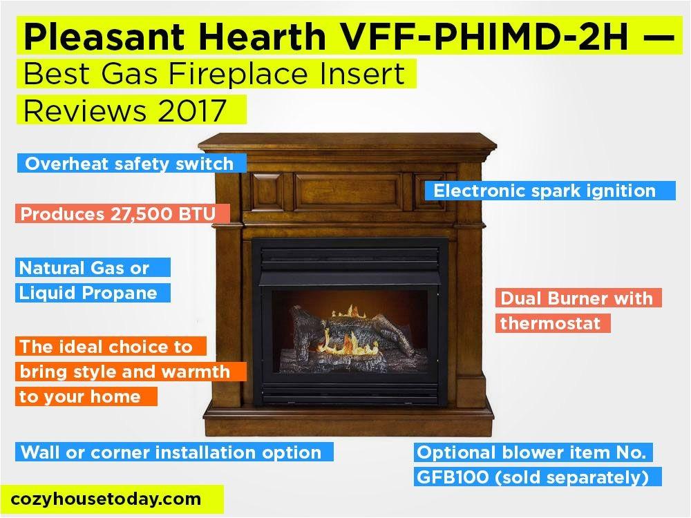 best gas fireplace insert reviews