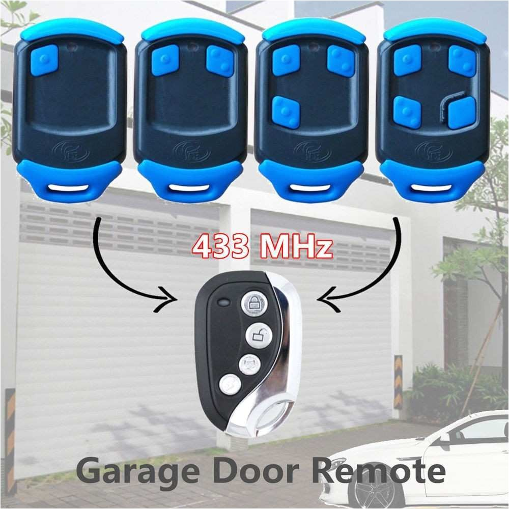 diy garage door opener remote elegant 4 button blue gate garage remote control replacement for centsys