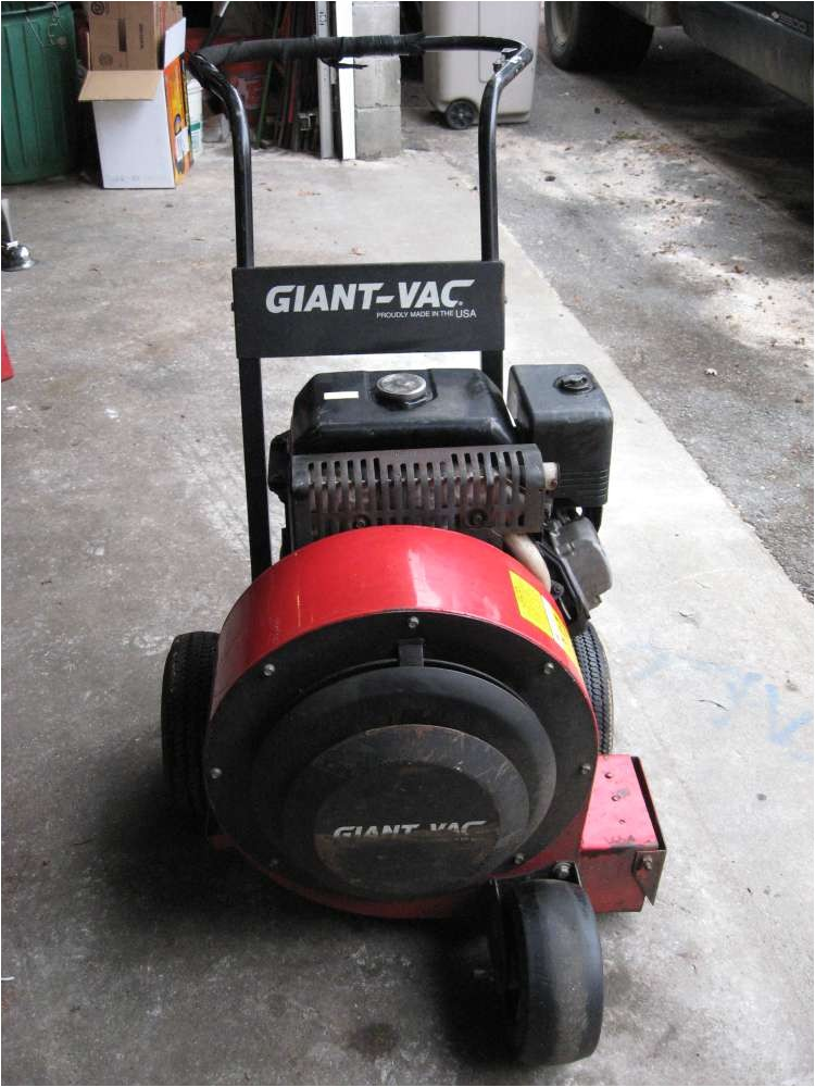 Giant Vac Leaf Blower Giant Vac Leaf Blower 13 Hp S 725 S 650 Free