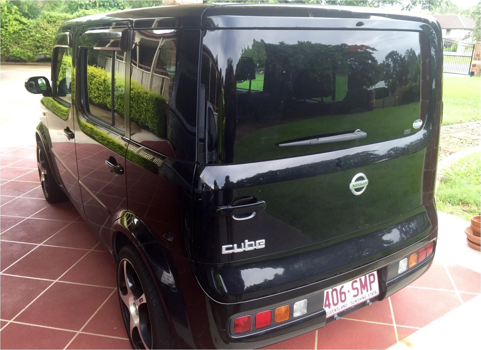Gold Cube for Sale Australia 2003 Nissan Cube Car Sales Qld Gold Coast 2521348