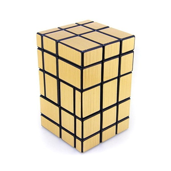 662 magic cube mirror gold custom 3x3x5