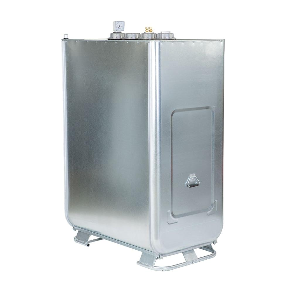 double wall oil tank 265 gal 2 in 1 tank with accessories