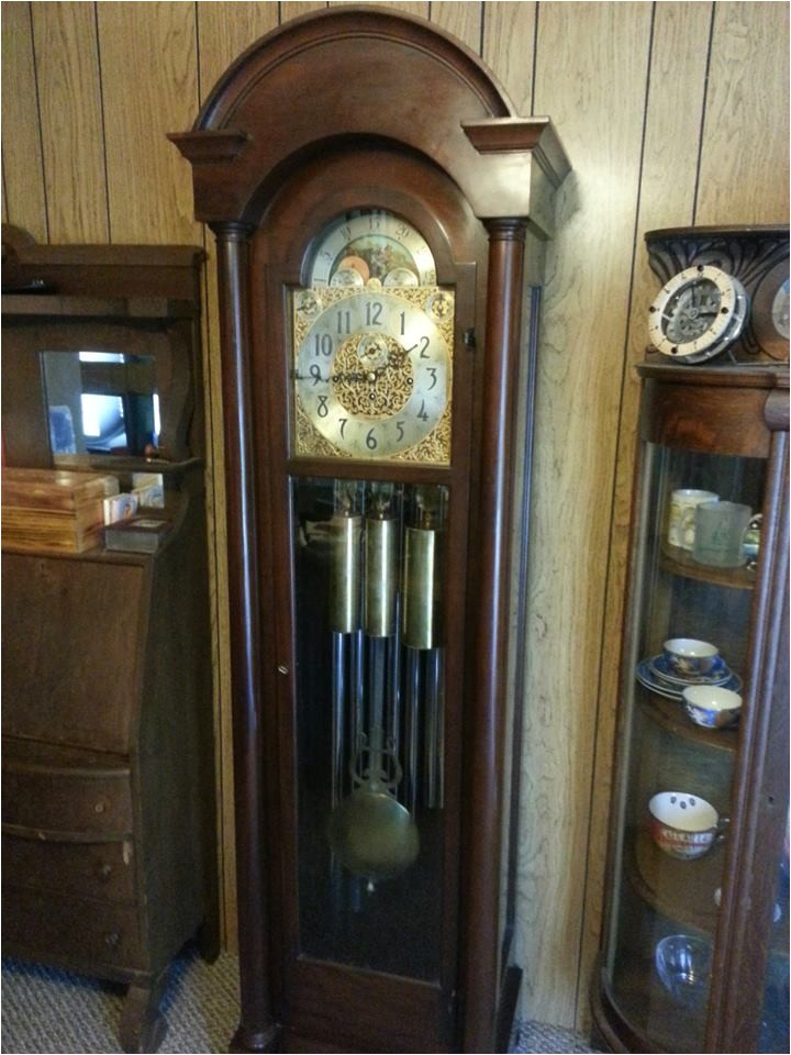 showthread 103317 received 9 tube herschede grandfather clock today