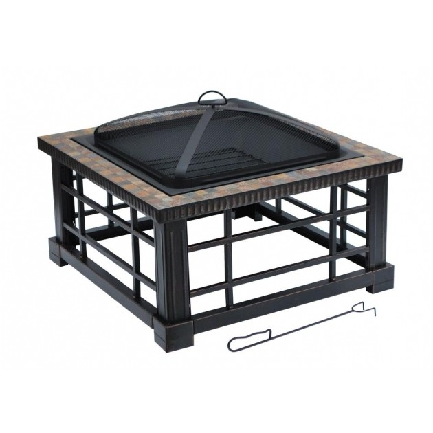 Hampton Bay Fire Pit Replacement Bowl Fascinating Hampton Bay Crossfire 2950 In Steel Fire Pit