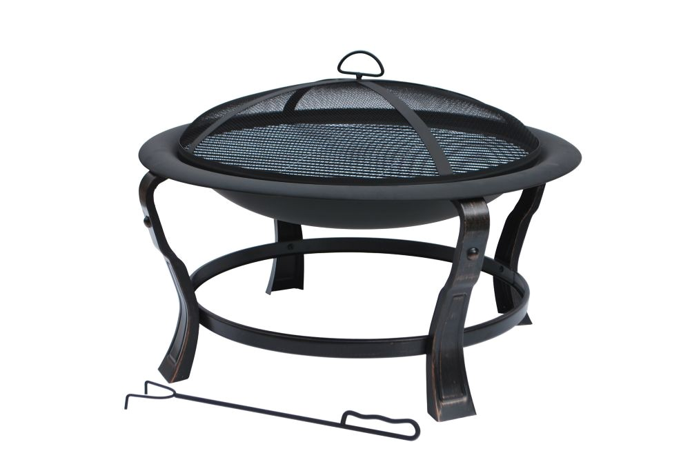 hampton bay fire pit selections