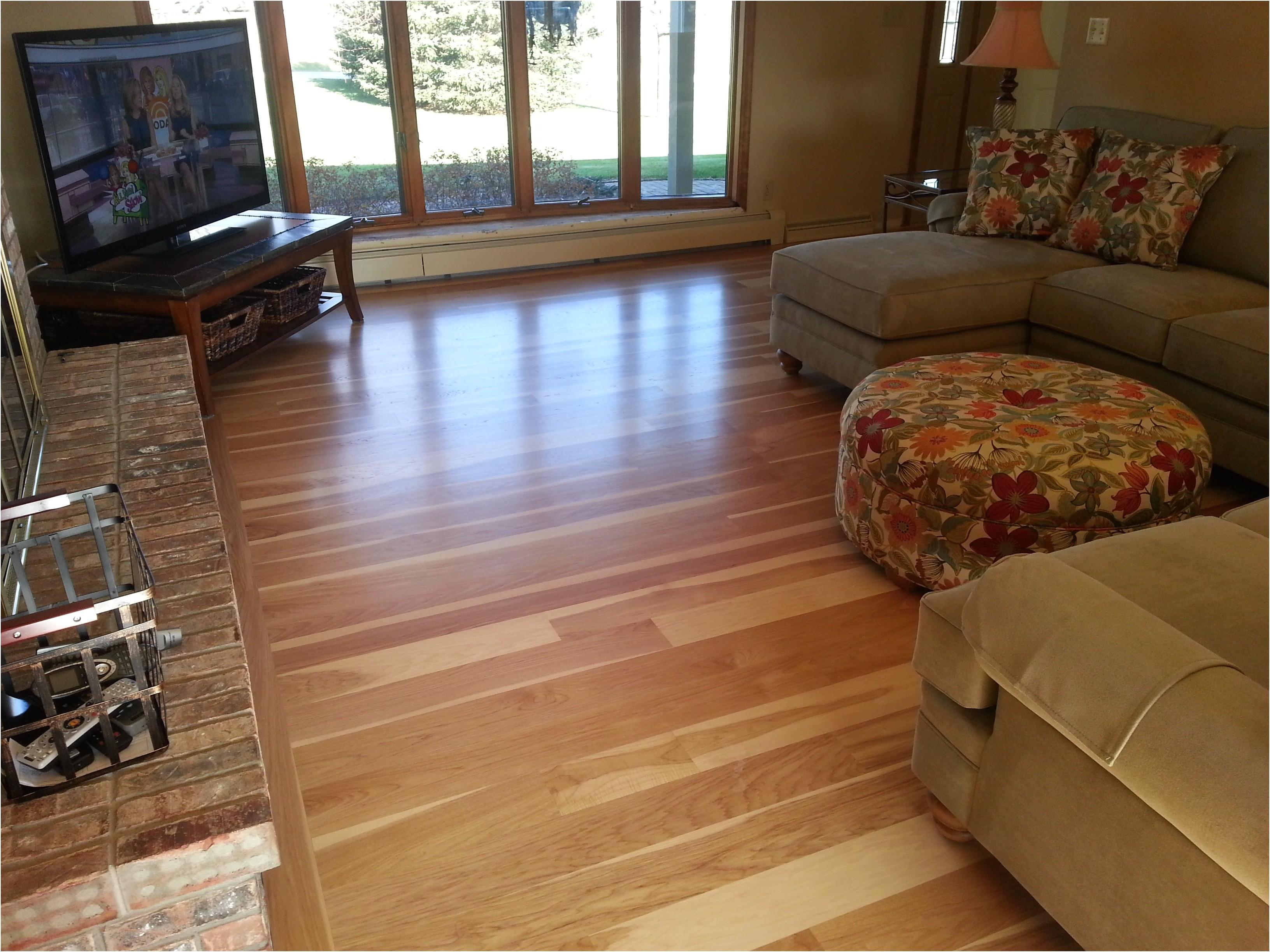 how to lay wood flooring unique custom hickory wide plank hardwood floor milwaukee wi of how