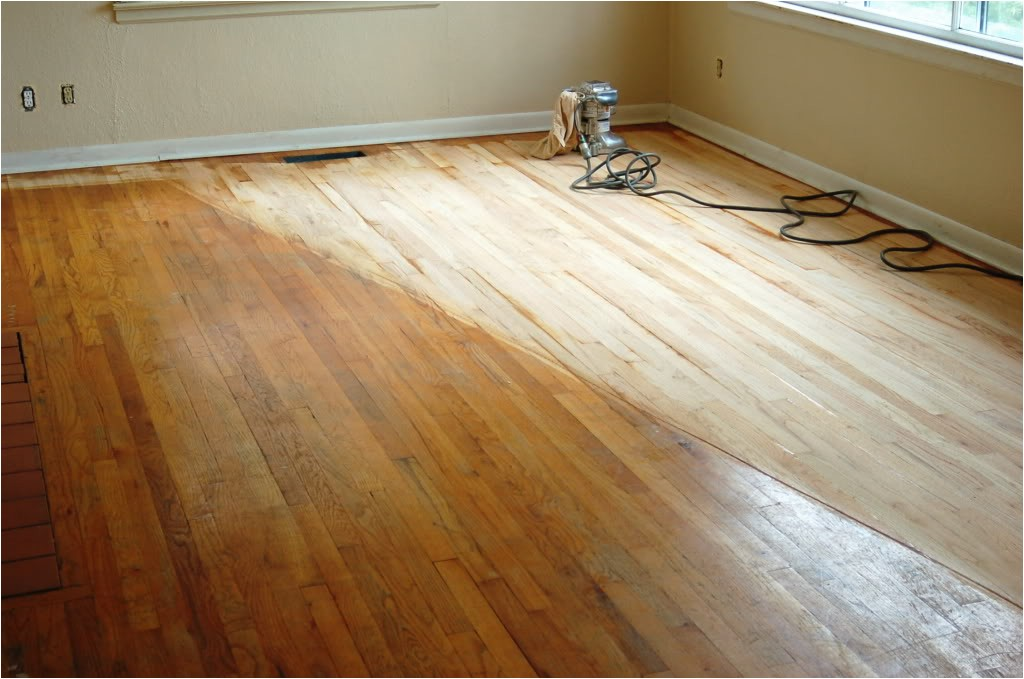 cost to refinish wooden floors