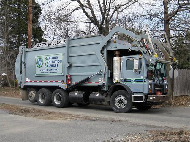 Harford County Trash Pickup Harford Sanitation Services Waste Industries 2009 Mack
