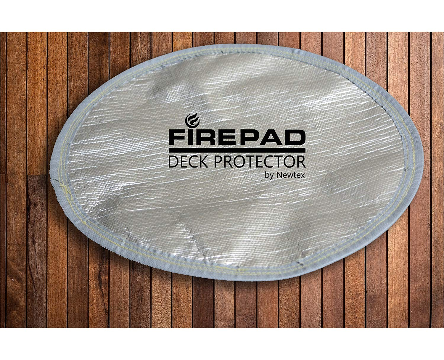 deck protector fire pit heat shield