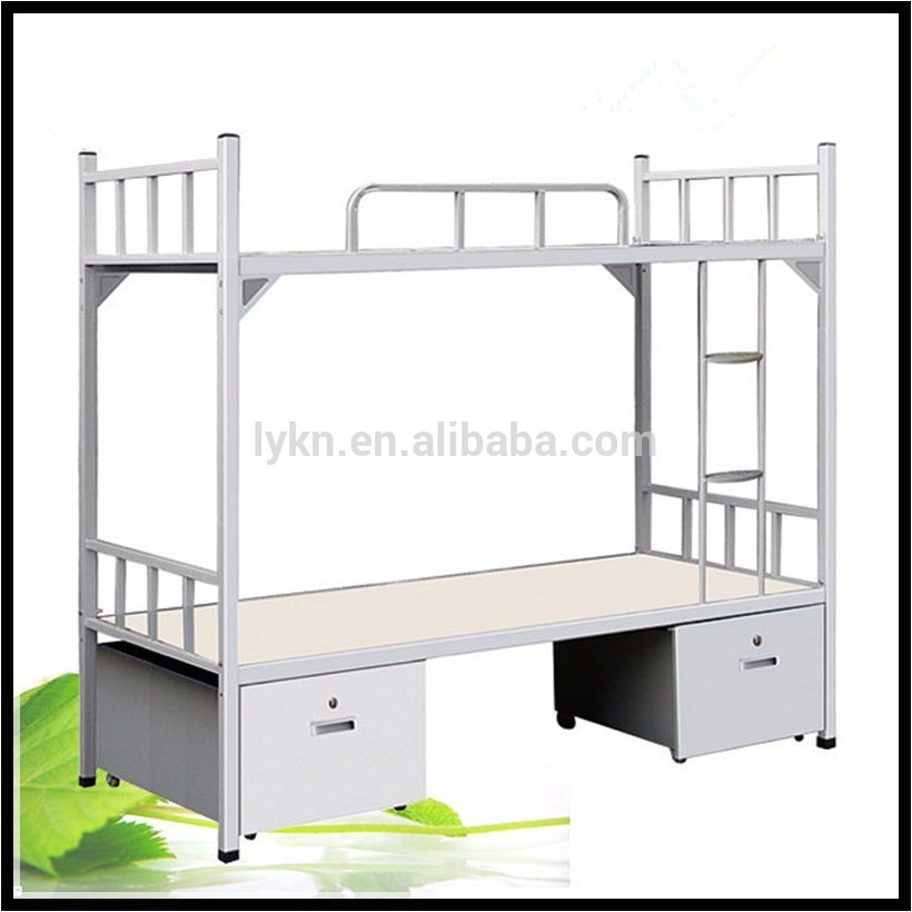 Heavy-duty Metal Bunk Beds for Adults wholesale Metal Heavy Duty Adult Iron Steel Double Bunk