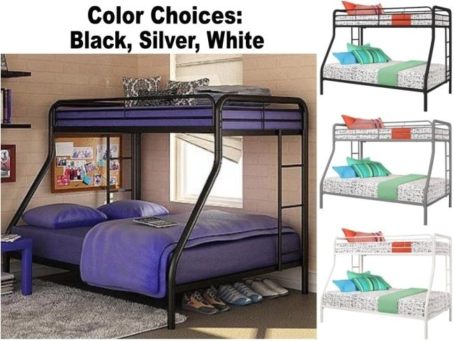Heavy Duty Metal Twin Over Full Bunk Beds Twin Over Full Size Metal Bunk Bed Beds Heavy Duty Sturdy