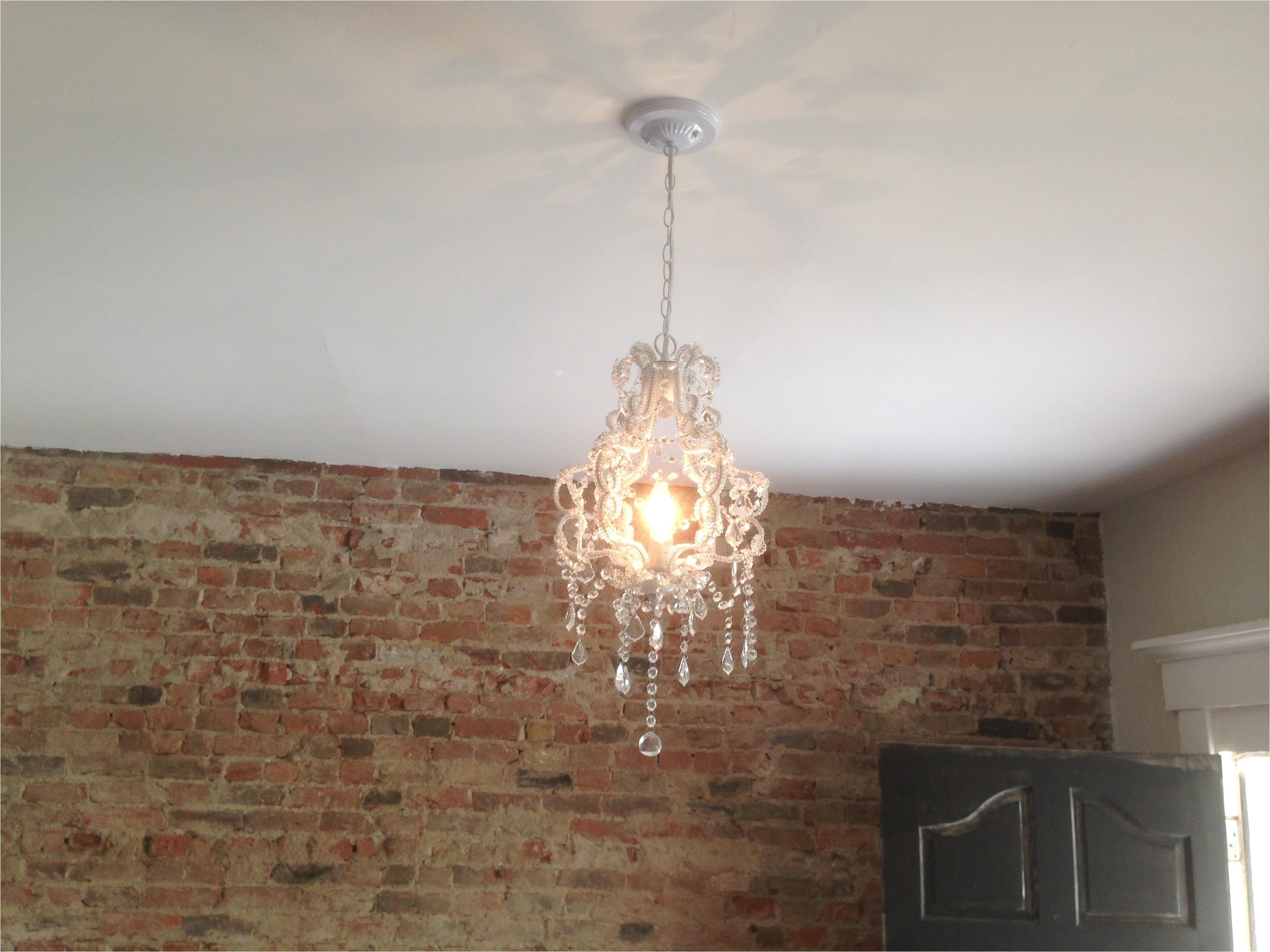 living room 40 dollar hobby lobby chandelier
