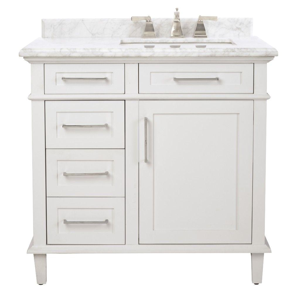Home Depot Powder Room Vanities Single Sink Bathroom Vanities Bath the Home Depot