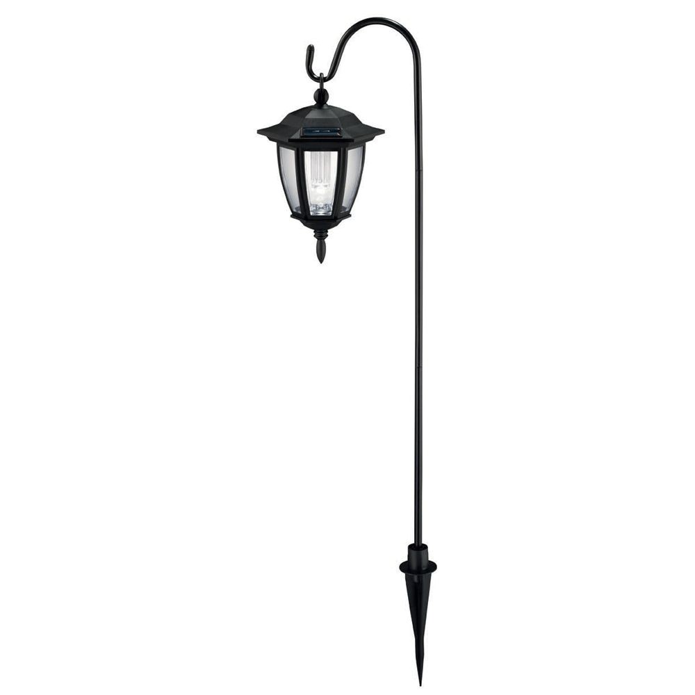 Home Depot solar Coach Lights Hampton Bay Black 4 Piece solar Dual Mount Coach Light Set