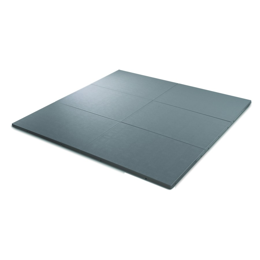 Hot Tub Pad Lowes Shop Qca Spas 32 In X 48 In Gray Plastic Rectangle Hot Tub