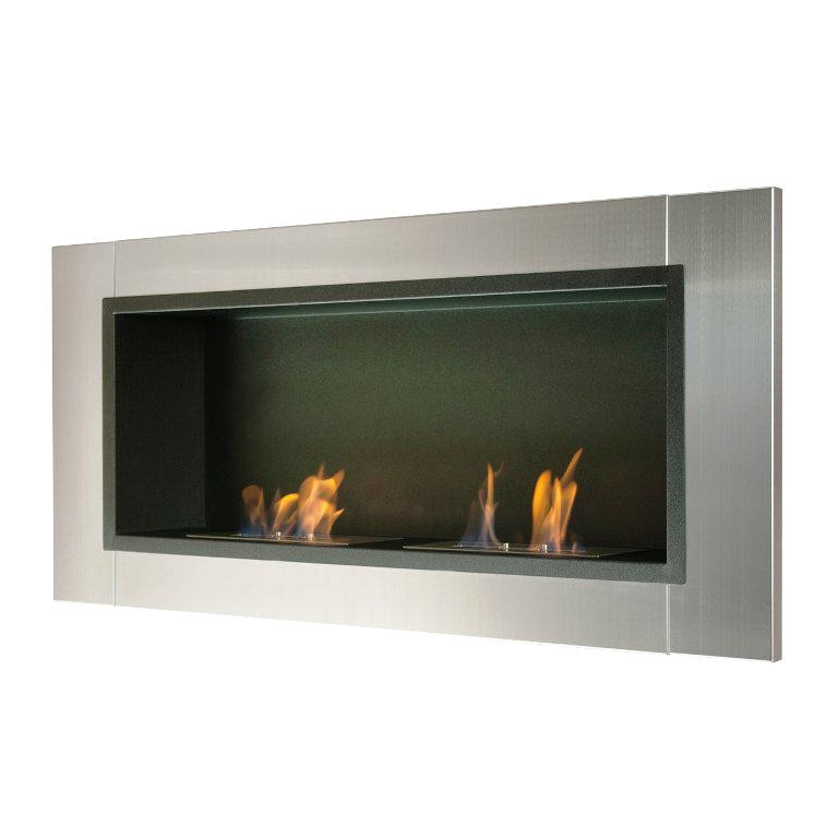how does an ethanol fireplace work