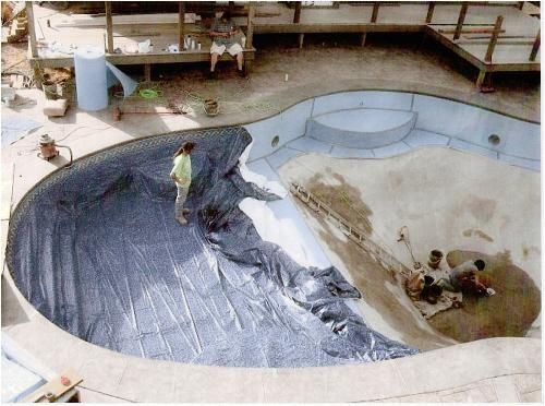 inground pool repair concrete