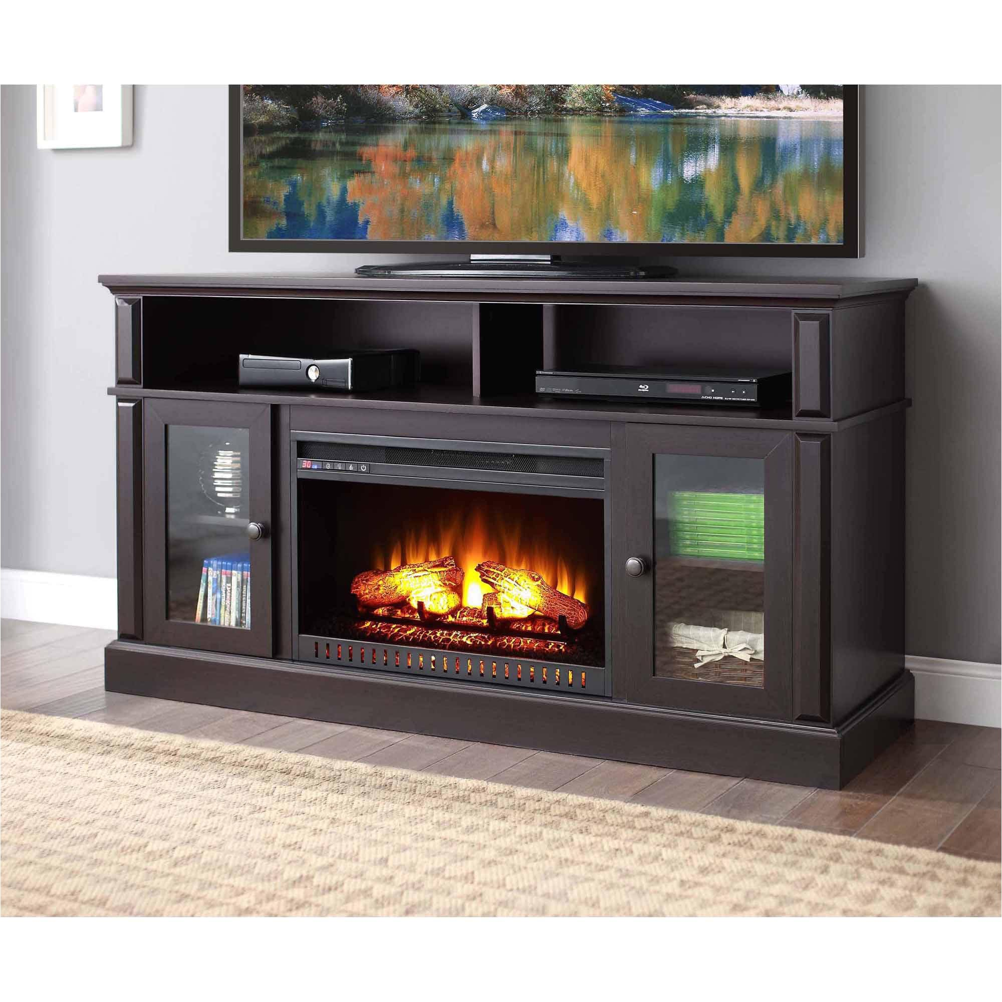 whalen barston media fireplace for tv s up to 70 multiple finishes walmart com