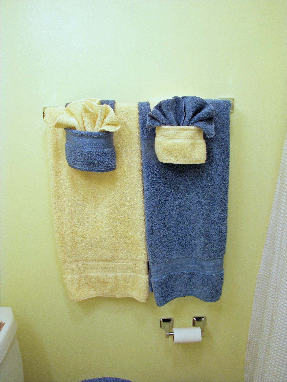 fancy towels wpockets