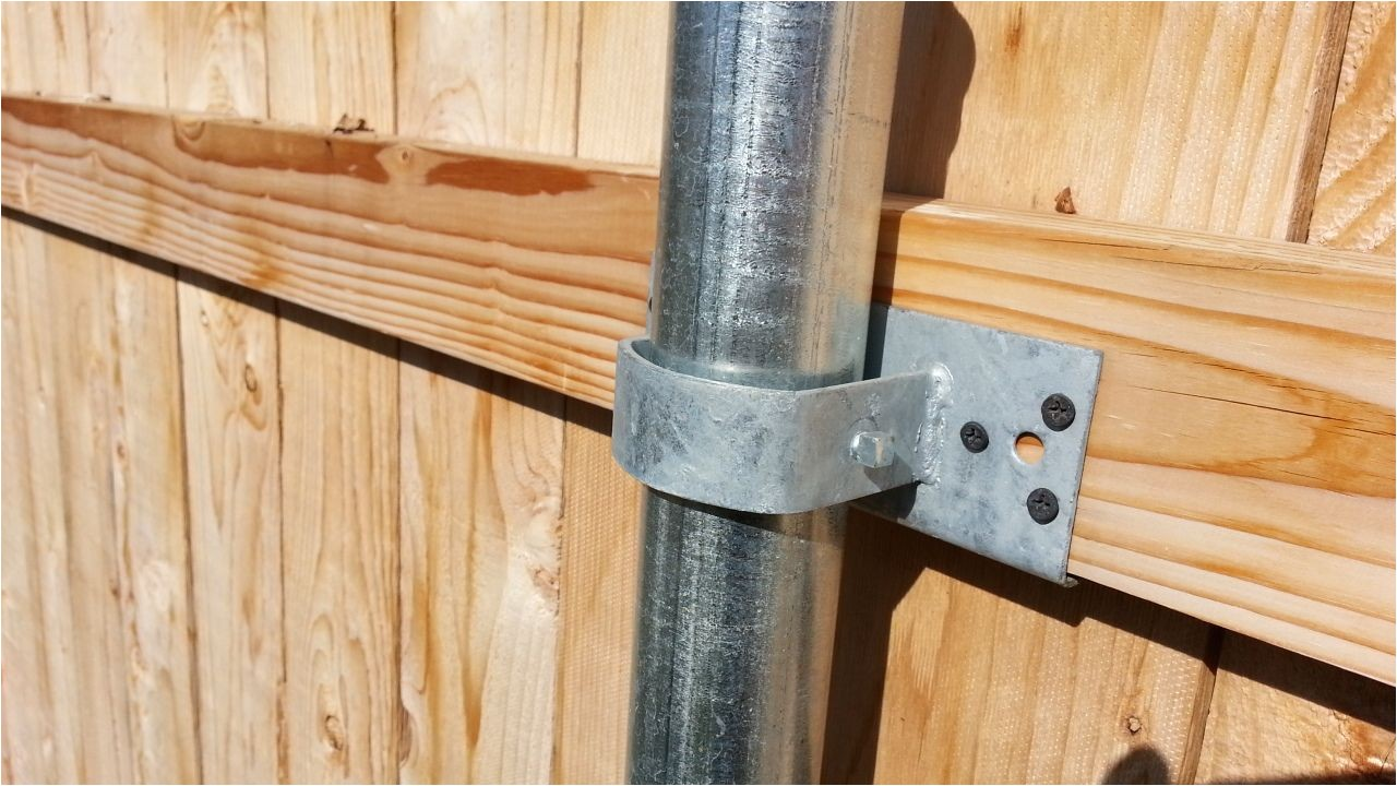 convert chain link fence to wood wood boring insects