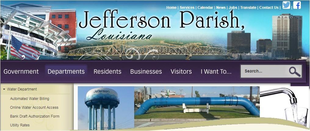 jeffparish net water bill pay