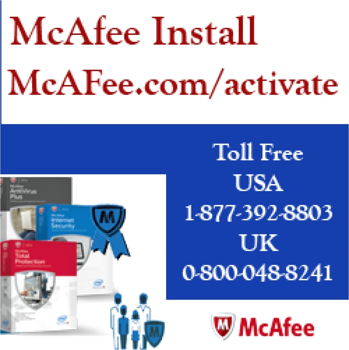 redeem macafee retail card http www mcafee com activate or call us 1 877 392 8803