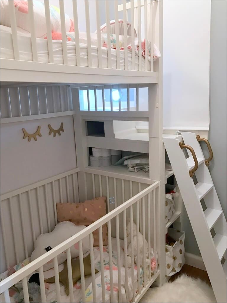 crib bunk bed hacked ikea gulliver cots