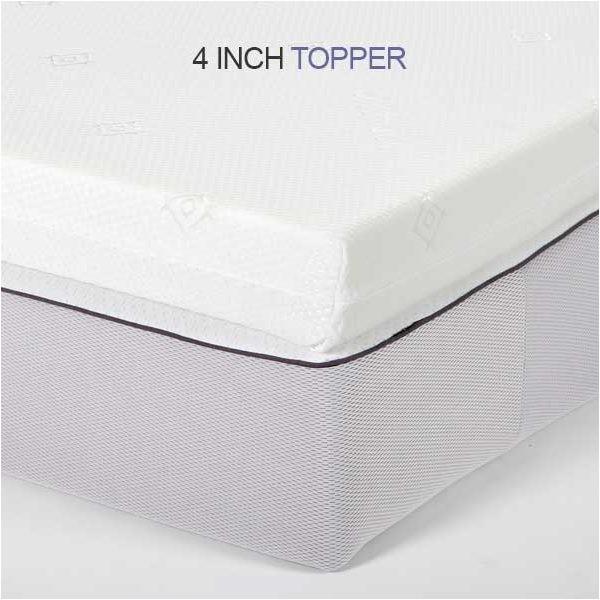 memory foam mattress topper double deluxe