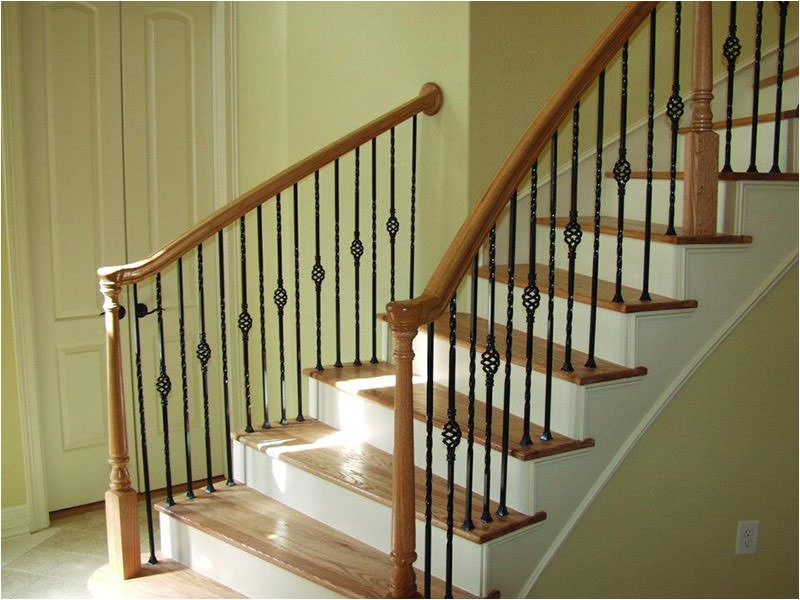 stair banisters types railing stairs and kitchen design stair banister kit