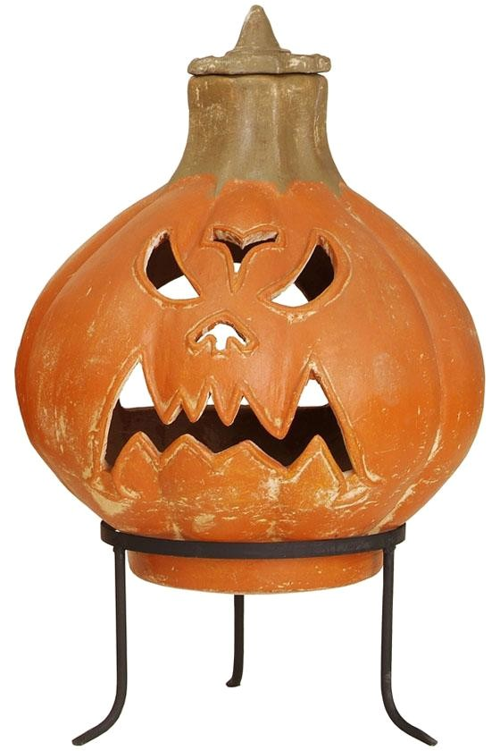 Jack O Lantern Chiminea the Haunted Gardens Let A Jol Warm Your Yard