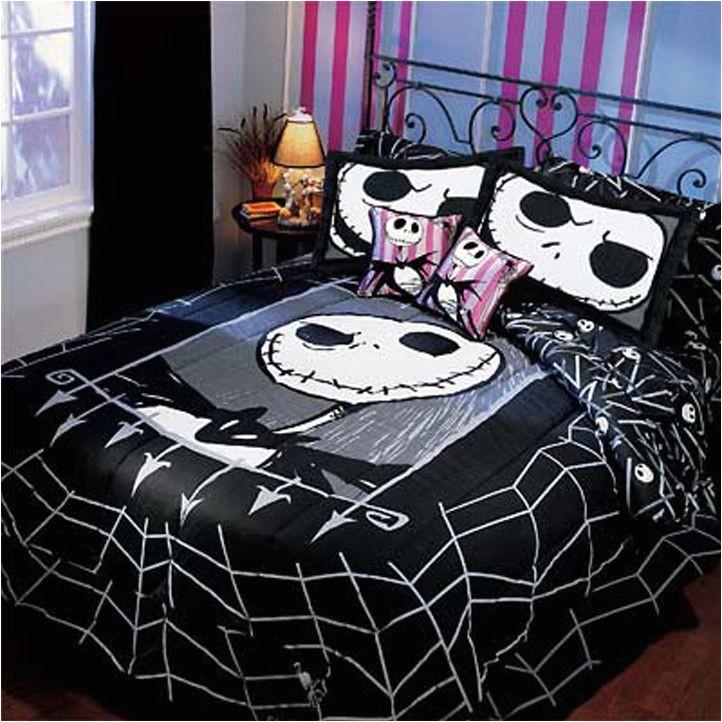 Jack Skellington Bed Set Very Rare Nightmare Before Christmas Twin
