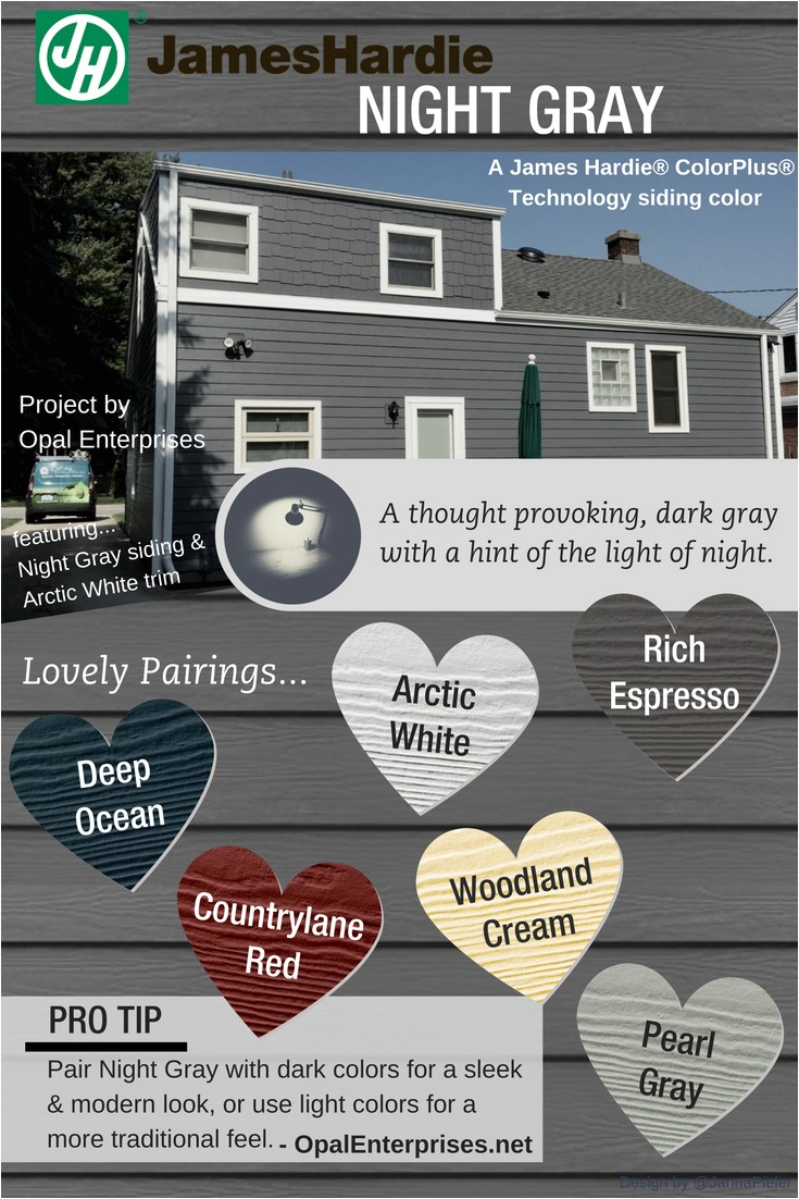 night gray james hardie siding inspiration graphic