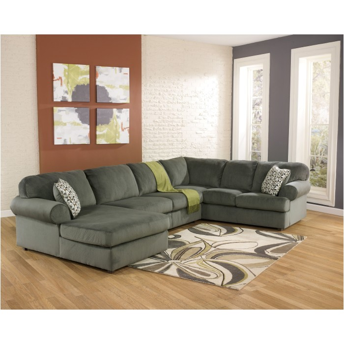 jessa place pewter 3 piece sectional laf chaise