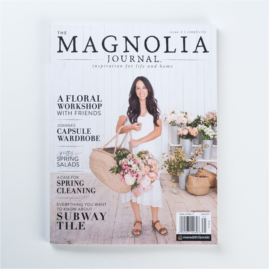 the magnolia journal spring 2017