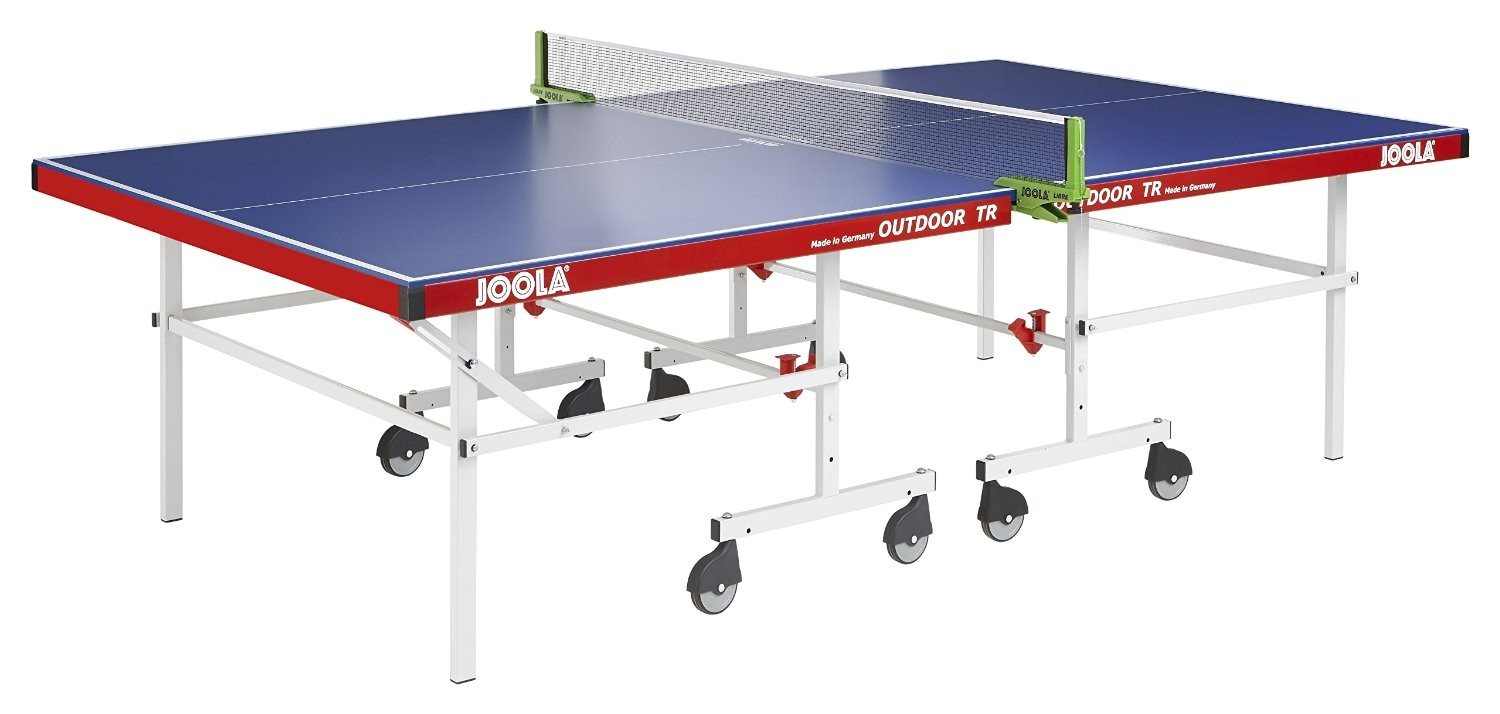 joola outdoor tr table tennis table with net set