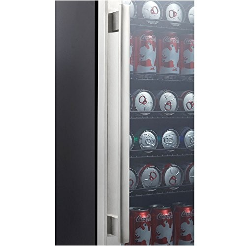 27480261 kalamera 15 beverage cooler 96 can built in single zone touch control