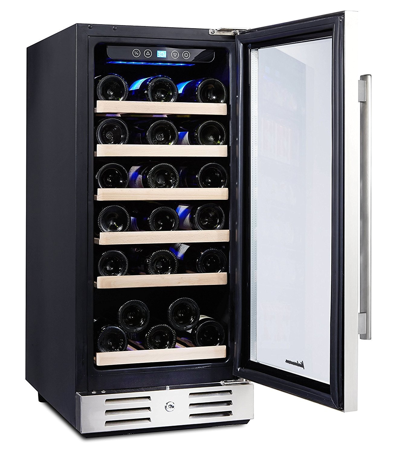 kalamera 30 bottle wine refrigerator detailed review