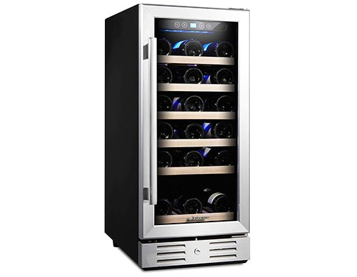 Kalamera 15 Wine Cooler Reviews Best Wine Refrigerator Reviews In 2017 Reecewinery Com