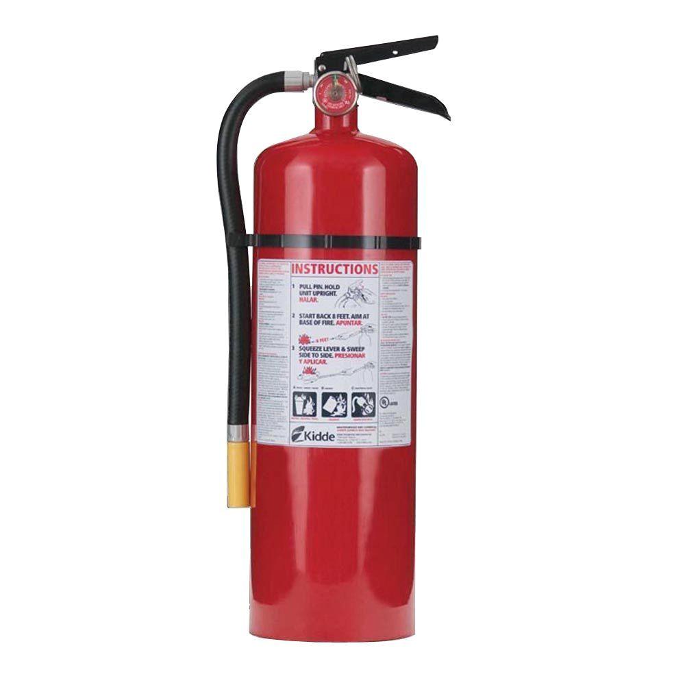 Kidde Fire Extinguisher Recharge Kidde Pro 460 4a 60b C Fire Extinguisher 21005785 the Home Depot