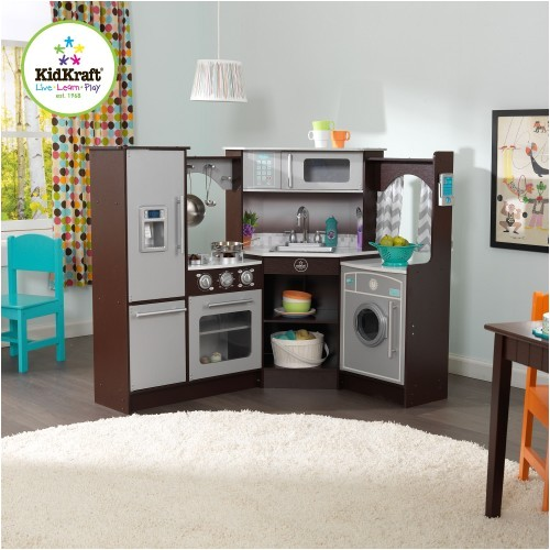 Kidkraft Corner Kitchen Replacement Parts Kidkraft Ultimate Corner Play Kitchen with sounds and