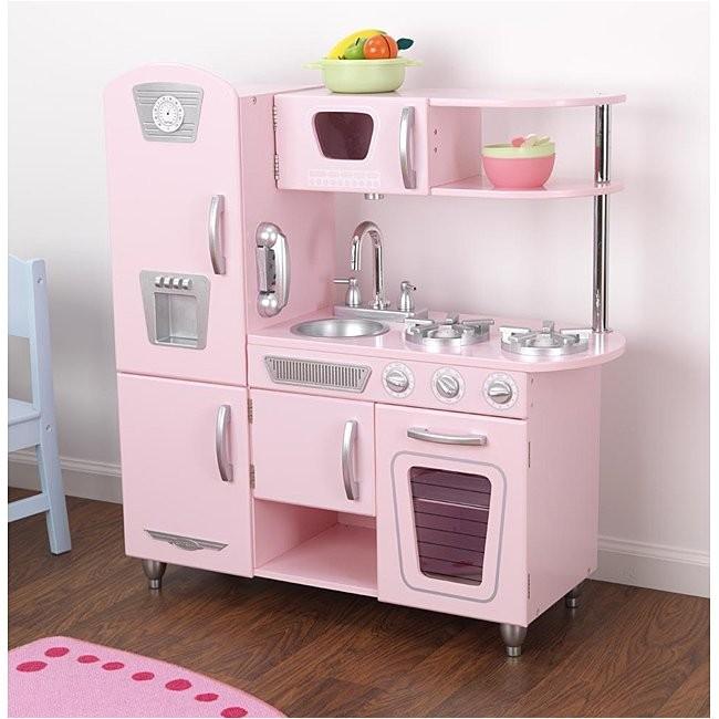 Kidkraft Kitchen Replacement Door Kid Kraft Pink Vintage Kitchen Play Set Auctions Buy and