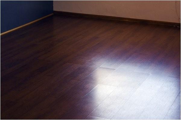 my laminate floor is slippery