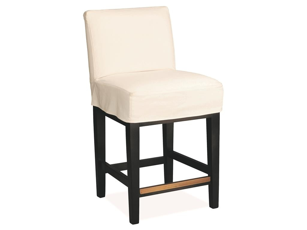 Lee Industries Bar Stools Lee Industries Bar and Game Room Slipcovered Counter Stool