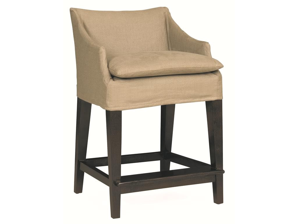 Lee Industries Campaign Bar Stool Lee Industries Bar and Game Room Slipcovered Campaign