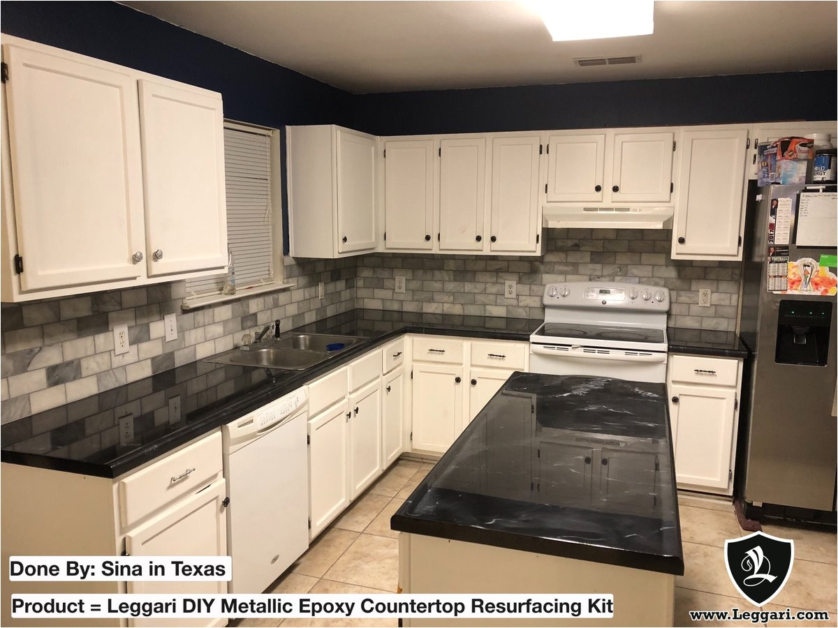 Leggari Epoxy Countertop Kit Reviews Products On Twitter These Black Countertops Turned Out