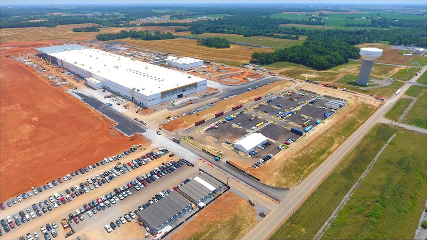 construction at lg electronics on schedule to begin production this fall