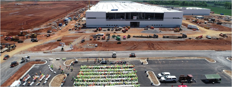 lg tennessee manufacturing facility phase 1