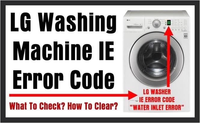 how to reset samsung washing machine error codes