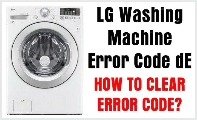 Wondrous Lg Washing Machine Le Error Adinaporter Wiring Digital Resources Funapmognl